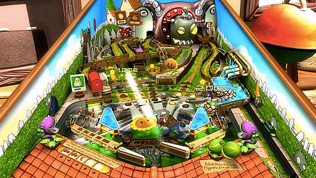 Zen Pinball 2 Plants vs. Zombies Pinball