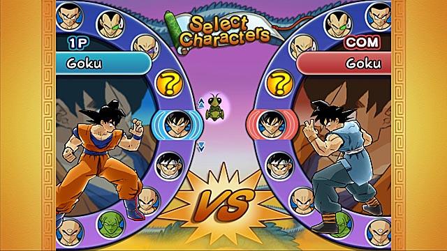 1 player fighting games dragon ball z