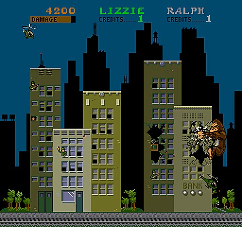 Rampage Midway Arcade Collection