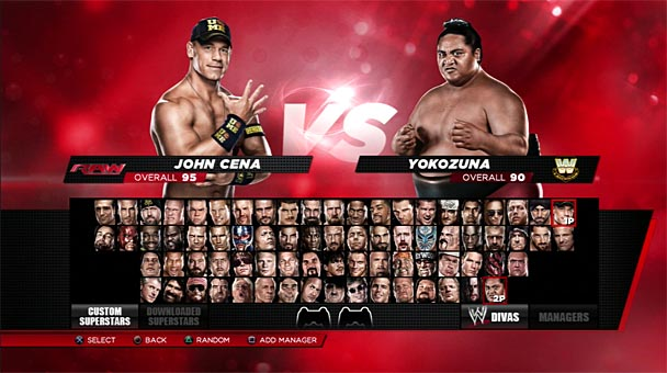 wwe2k14 roster - Copy