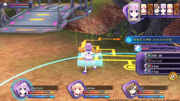 Hyperdimension Neptunia REBirth1  (3)