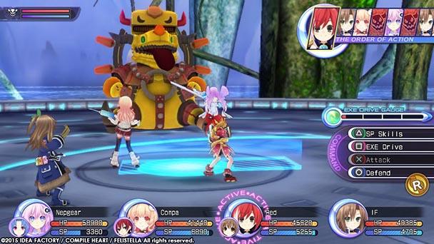 Hyperdimension Neptunia Re;Birth 2 Sisters Generation (6)
