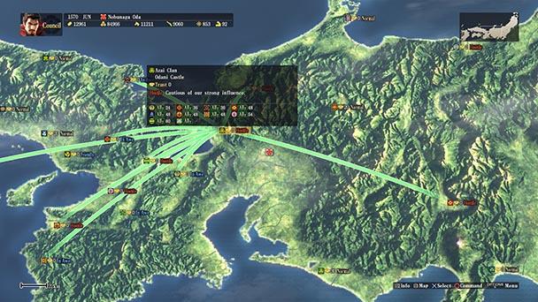 Nobunaga's Ambition Sphere of Influence (7)