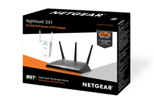 Netgear Nighthawk R7300 Router and DST Adapter (2)