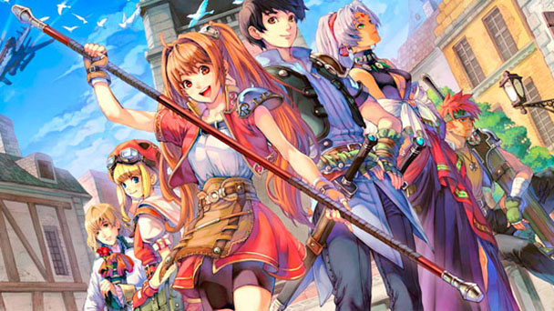 The Legend of Heroes Trails in the Sky SC header