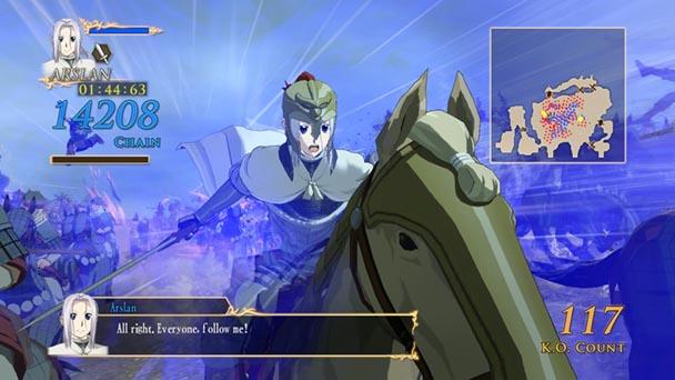 Arslan The Warriors of Legend (1)