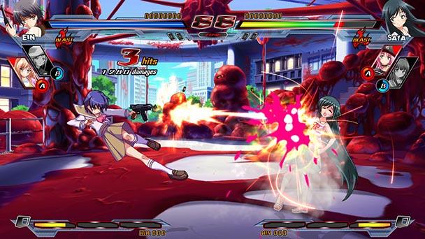 Nitroplus Blasterz Heroines Infinite Duel 6