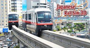 Japanese Rail Sim 3D Monorail Trip to Okinawa0
