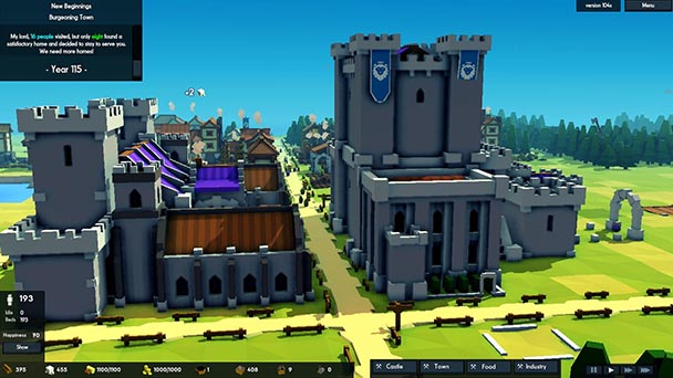kingdoms and castles review